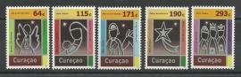 Curaçao Status Aparte 107/111 Decemberzegels 2012 Postfris
