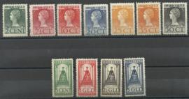 Nvph 121/131 Jubileum 1923 Ongebruikt ( 3)