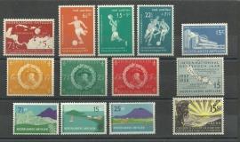 Nederlandse Antillen Jaargang 1957 Postfris