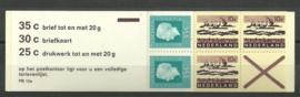 PZB 12a Postfris + Plaatfout (blauwe streep door kruis)