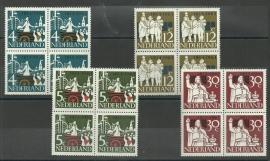 Nvph 807/810 150 jaar Onafhankelijkheid in Blokken Postfris
