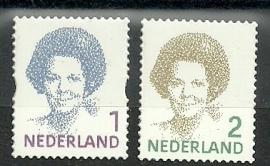 Nvph 2730/2731 Beatrix Postfris