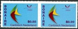 Caribisch Nederland  39 + 42 FXDC  Frankeerzegels Bonaire (US $0,88 + US $ 0,99) 2014 Postfris