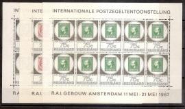 Nvph  886/888V Amphilex Vellen Postfris
