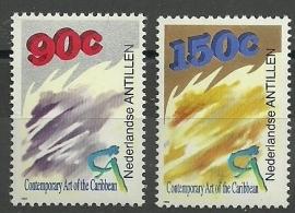 Nederlandse Antillen 1037/1038 Cultuurzegels 1993 Postfris