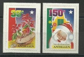 Nederlandse Antillen 1139/1140 Kerst 1996 Postfris