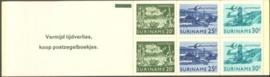 SR Postzegelboekje 2a Postfris