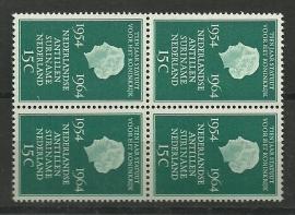 Nvph 835 10 jaar statuut voor het koninkrijk in Blok Postfris