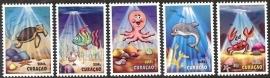 Curaçao Status Aparte 247/251 Kinderzegels 2014 Postfris