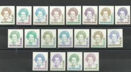 Nvph 2036/2620 Koningin Beatrix Gestanst Postfris