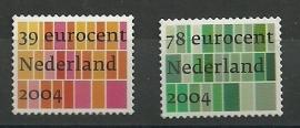 Nvph 2250/2251 Zakelijke Postzegels 2004 Postfris