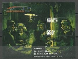 Nederlandse Antillen 1401 Blok Amphilex 2002 Postfris