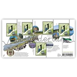 Nvph 3725 Mooi Nederland Waddeneilanden: Vlieland Postfris