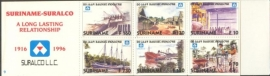 SR Postzegelboekje 9 Postfris