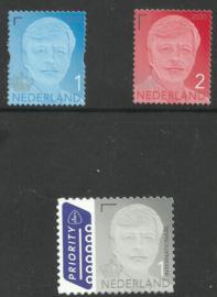 Nvph 39../39.. Koning Willem Alexander (Kroon 2020) Gestanst Postfris