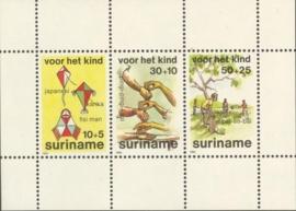 Suriname Republiek 432 Blok Kinderzegels 1984 Postfris