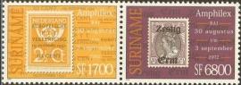 Suriname Republiek 1167/1168 Amphilex 2002 Postfris