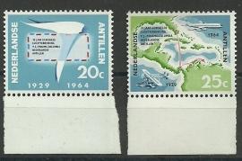 Nederlandse Antillen 345/346 Postfris