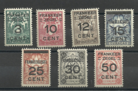 Curacao  82/88 Brandkast Postfris (1)