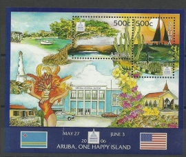 Aruba 360 Filatelistische Tentoonstelling Postfris