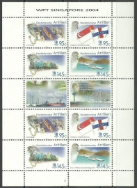 Nederlandse Antillen V1529/1532 Singapore Postfris