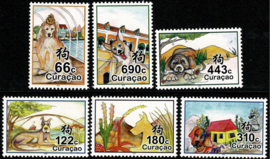 Curaçao Status Aparte 375/380 Chinees Nieuwjaar 2018 Postfris
