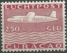 Luchtpost 83 2½ Gld Vliegtuig Postfris (1)