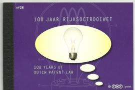 PR 28 100 Jaar Rijksoctrooiwet (2010)