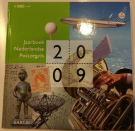 Jaarboek 2009 Inclusief alle postzegels & vellen Postfris