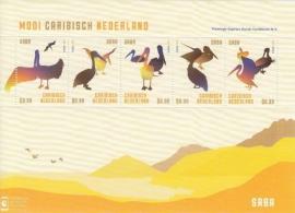 Caribisch Nederland  46 FXDC  Blok Saba (5 × US $ 0,99) 2014 Postfris