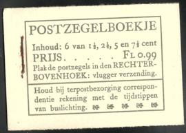 PZ 38-N 4 × 6 (Nvph 172/379/380/381) Roomkleurige Kaft ( 6)