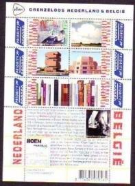 Nvph V3089/3094c Grenzeloos Nederland België Postfris