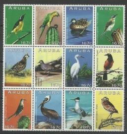 Aruba 688/699  Vogels 2013 Postfris
