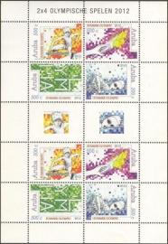Aruba V598/601 Olympische Spelen 2012 Postfris (Compleet Vel)