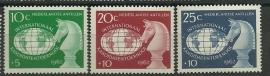 Nederlandse Antillen 330/332 Postfris