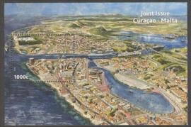 Curaçao Status Aparte 161 Blok Havens (Joint Issue) 2013 Postfris