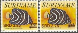 Suriname Republiek 1404/1405 Hulpuitgifte 2006 Postfris