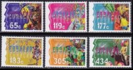 Curaçao Status Aparte 267/272 Carnaval 2015 Postfris
