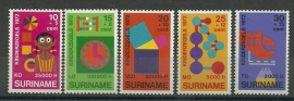 Suriname 586/590 Postfris