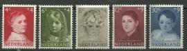 Nvph 702/706 Kinderzegels 1957 Postfris