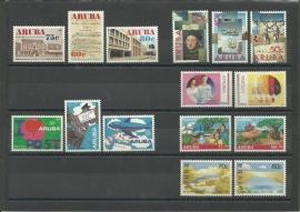 Complete Jaargang Aruba 1992 Postfris