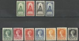 Nvph 121/131 Jubileum 1923 Ongebruikt ( 9)