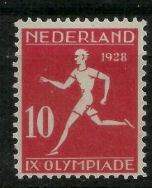 Nvph 217A 10ct Olympiade 12 × 11½ Ongebruikt (1)
