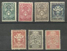 Nederlands Indië Brandkast 1/7 Postfris + Certificaat / Aankoopbewijs uit 1929! (2)