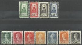 Nvph 121/131 Jubileum 1923 Ongebruikt ( 1)
