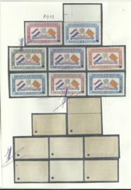 Luchtpost 18/25 Prins Bernard Fonds met  SPECIMEN opdruk Postfris + Certificaat