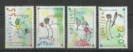 Nederlandse Antillen 1611/1614 Kinderzegels 2005 Postfris