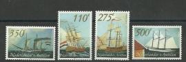Nederlandse Antillen 1347/1350 Schepen Postfris