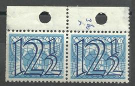 Nvph 360 in paar uit oud boekje PBZ49 Postfris (1)