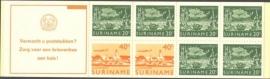 SR Postzegelboekje 3cp Postfris